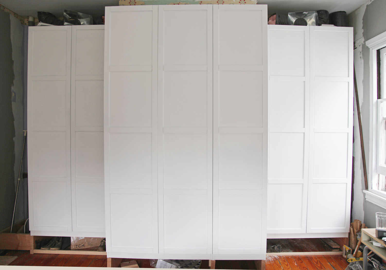 Storage Wardrobe Ikea PAX Wardrobe White Stained Oak