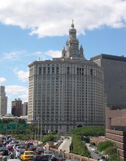 1 Centre Street, Municipal Building