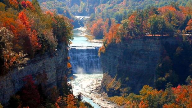 Letchworth Middle Fallls - Photo Courtesy of NYS Parks