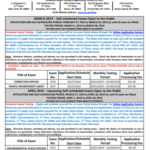 DCAS – Work for New York City – DCAS Monthly Exam Schedule