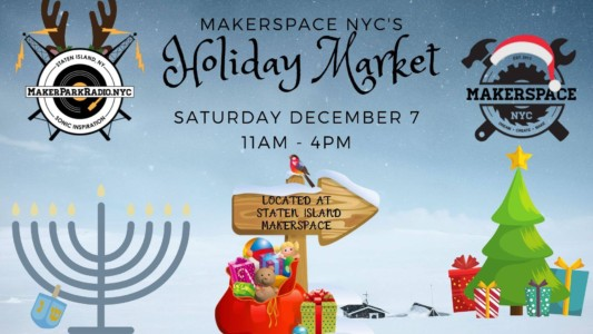 MakerSpace Holiday Maker Market