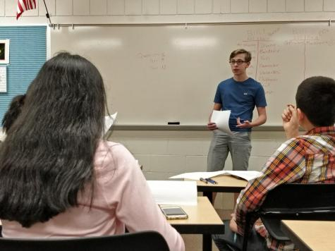 Student gives Ted Talk, asks for finance course