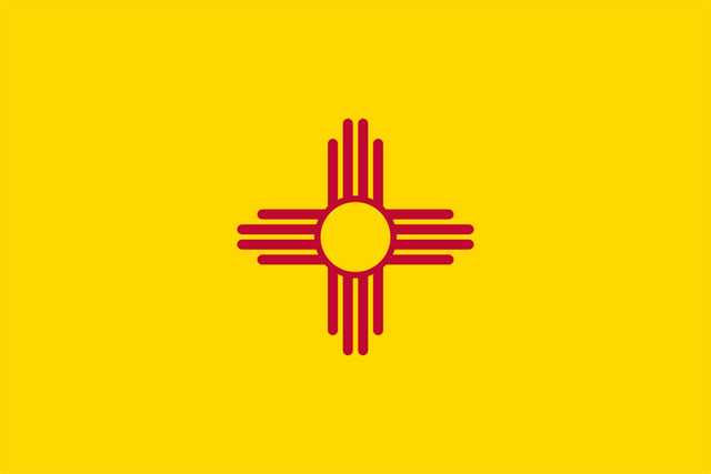 flag of new mexico state symbols usa