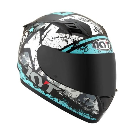 √ Kyt R10 Helm #3 Black Aqua Blue Terbaru Juli 2021 harga murah - kualitas  terjamin   Blibli