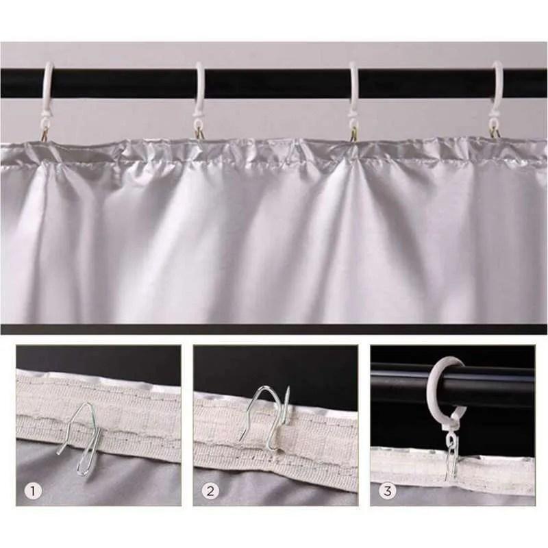 400 800x metal curtain hooks drapery hook pins for window curtain door curtain and shower curtain