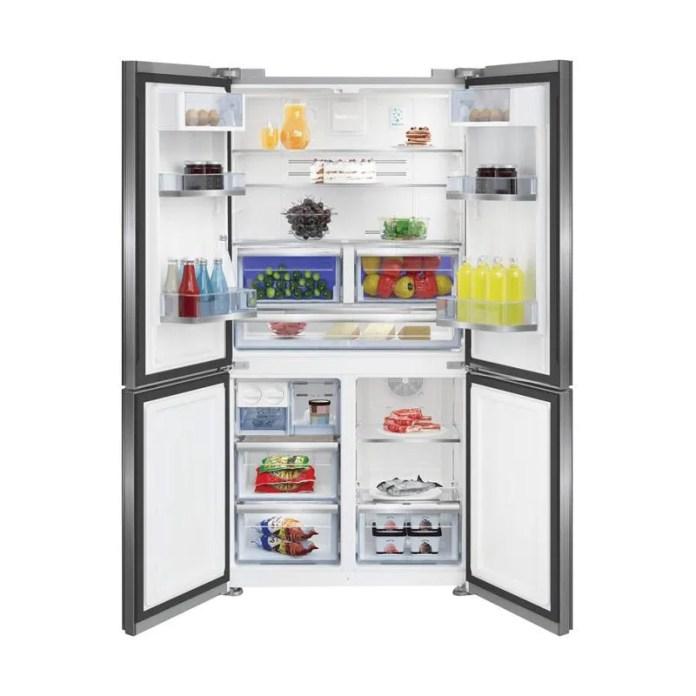 Jual Beko GN1416223ZX Refrigerator Kulkas 4 Pintu [626 L] Online ...