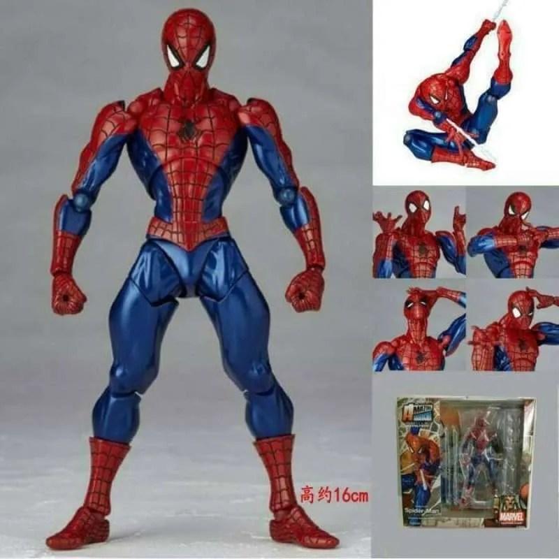 Jual Revoltech Amazing Spiderman Action Figure Terbaru Juni 2021 Blibli
