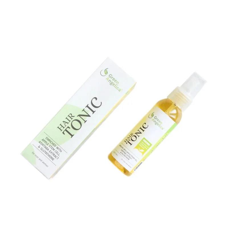 Jual Green Angelica Hair Tonic Obat Penumbuh Rambut  Ml Online Harga Kualitas Terjamin Blibli Com
