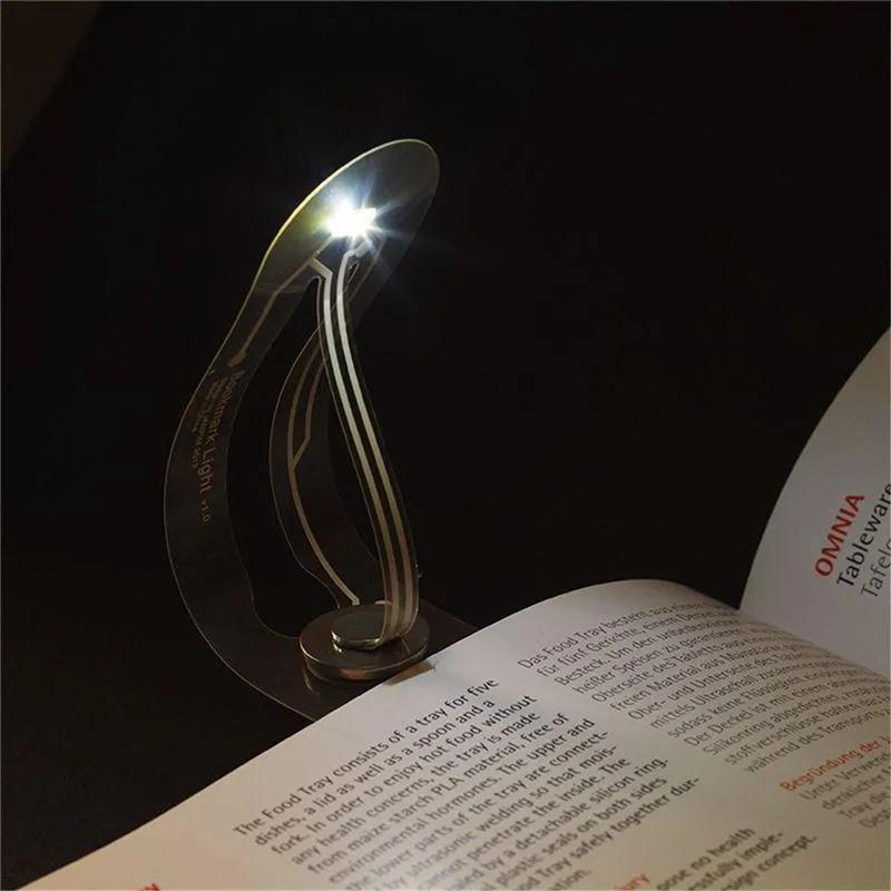 Jual Best Ultra Thin Led Night Light Bookmark Light Folding Curved Book Light Eye Reading Lamp Online September 2020 Blibli Com