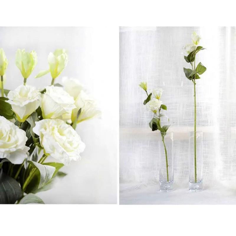 Jual 6x Large White Artificial Flowers Wedding Bridal Bouquet Floral Arrangement Online September 2020 Blibli Com