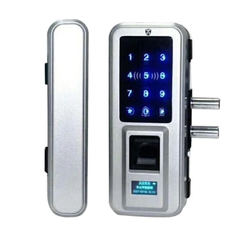 Jual Fingerprint Doorlock Keyless Lock Smart Digital Biometric Keypad Door Entry Online September 2020 Blibli Com