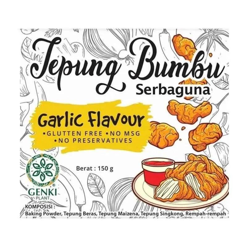 Jual Genki Plant Garlic Flavour Tepung Bumbu Serbaguna 150 G Gluten Free No Msg Online Oktober 2020 Blibli Com