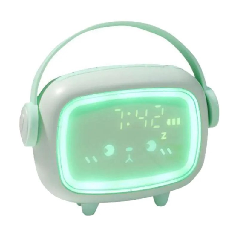 Jual Kids Night Light Alarm Clock Bedroom Night Sleeping Lamp Children Sleep Trainer Online September 2020 Blibli Com