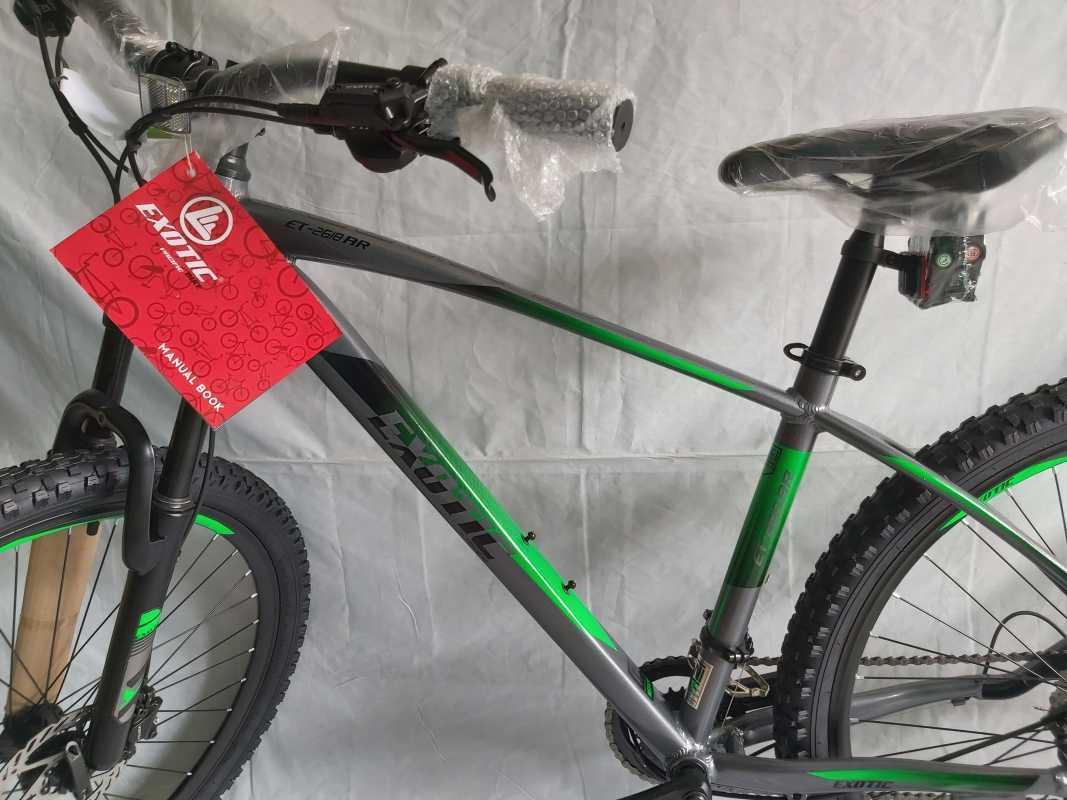 Jual EXOTIC 2618 AR 20 Speed 2020 Sepeda MTB - Pewter Gray ...