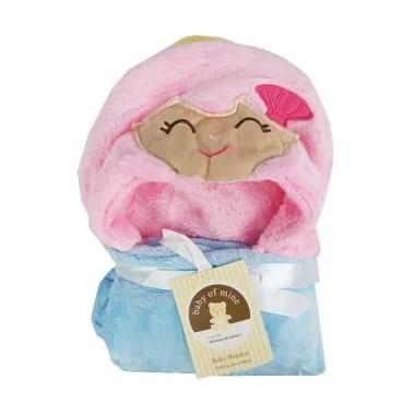 Carter's Monkey Topi Selimut Bayi - Pink