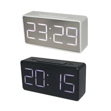 Jual Itech Q1dd 252 Jam Alarm Digital With Smartphone Charger 2 Usb Port 2 1a Online Oktober 2020 Blibli Com