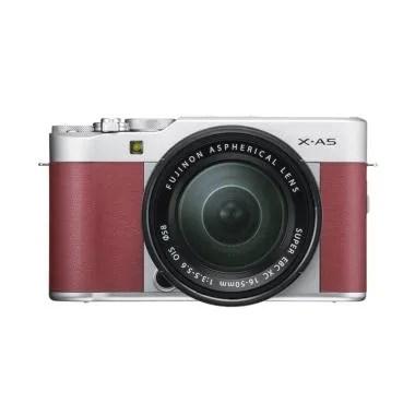 Fujifilm X-A5 KIT 15-45mm Kamera Mirrorless - Pink