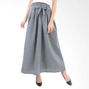 Koesoema Clothing Supernova Ribbon  ... uslim Wanita - Light Grey
