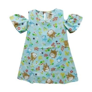 STB Kids TR2 Baju Dress Bayi Perempuan - Blue