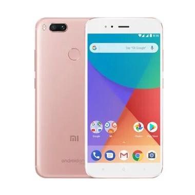 Xiaomi Mi A1 Smartphone - Rose Gold [64GB/4GB/Garansi Resmi TAM]