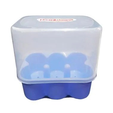 Lusty Bunny Drying Rack Kotak - Blue