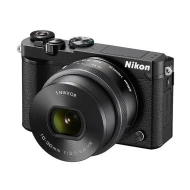 Nikon 1 J5 10-30mm VR KIT Kamera Mi ... Hitam [20.8 MP] jpckemang