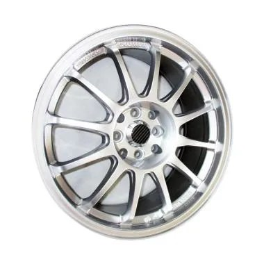 SSR Type-F PCD 4x100/4x114.3 Velg Mobil Replika - Silver [17 Inch]