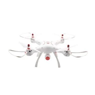 Weekend Deal - Syma X8SW 2.4G RC Qu ... WiFi Camera Drone - Putih