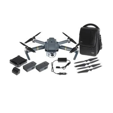 DJI Mavic Pro Fly More Combo Camera Drone with Remote Controller Grey