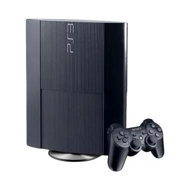 Sony Playstation 3 Superslim Game C ... Game PSN - Hitam [250 GB]