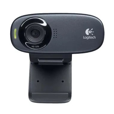LOGITECH C310 HD Webcam - Hitam