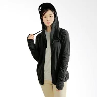 Coup Women Active Hoodie Jacket - Black
