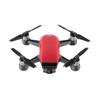 DJI Spark Fly More Combo Drone Camera - Red