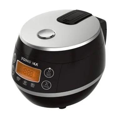 Yong Ma YMC 112 Auto Clean Smart Rice Cooker - Black