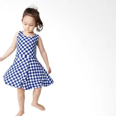 Minimi Dorothy Dress Anak - Biru