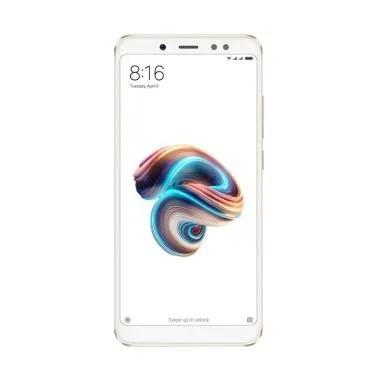 Xiaomi Redmi Note 5 Smartphone - Gold [3GB/32GB/Resmi 1 Tahun]