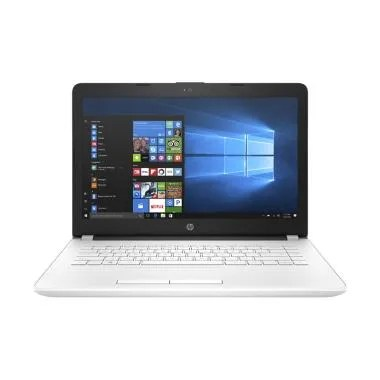 HP 14-BS008TX Notebook - White [i5-7200/4GB/1TB/DOS]