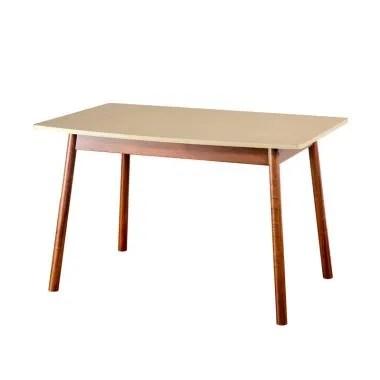Oscar Furniture Catania 150 Meja Makan - Cocoa