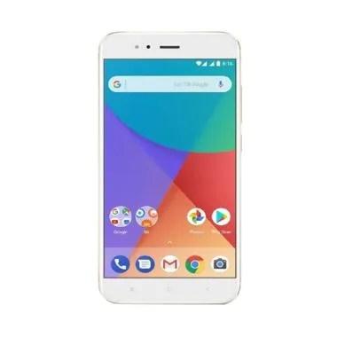 Xiaomi Mi A1 Smartphone - Gold [64GB/4GB] - Garansi Resmi TAM