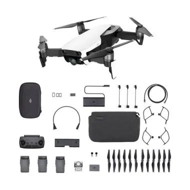 DJI Mavic Air Fly More Combo Drone - Arctic White