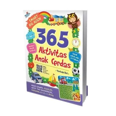 Cikal Aksara Smart Big Book 365 Akt ... da Dini Buku Edukasi Anak