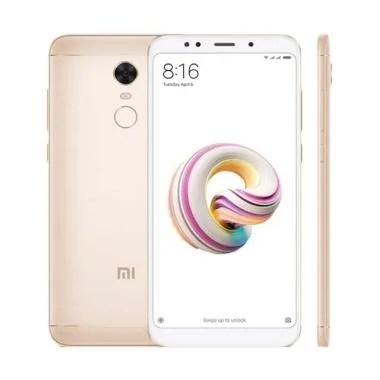 Xiaomi Redmi 5 Plus Smartphone - Gold [64GB/ 4GB]