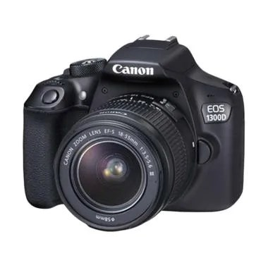 Canon EOS 1300D Kit 18-55 IS II WiFi Kamera DSLR