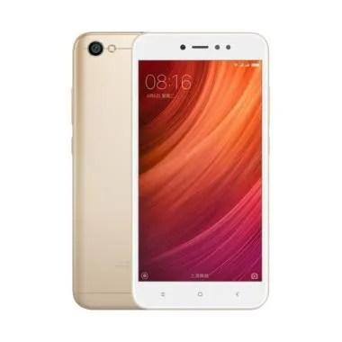 Xiaomi Redmi Note 5A Smartphone - Gold [16GB/2GB] TAM