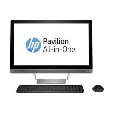 HP Pavilion 24-B214D All in One Desktop PC - Putih