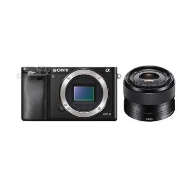 SONY Alpha A6000 with Kit 35mm F1.8 Kamera Mirrorless