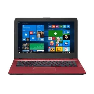 ASUS X441NA BX403-T Laptop RED RAM  ... DAN BONUS TAS LAPTOP ASUS
