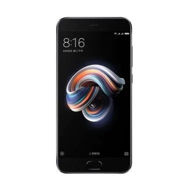 Xiaomi Mi Note 3 Smartphone - Black [64GB/ 6GB]