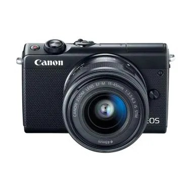 Canon EOS M100 Kit 15-45mm IS STM K ... k + Free LCD Screen Guard