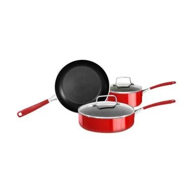 KitchenAid KC2AS05BER Cookware - Empire Red [5 pcs]
